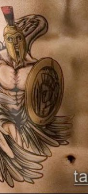 фото тату спартанец (tattoo Spartan) (значение) – пример рисунка – 073 tatufoto.com