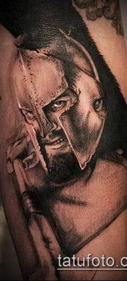 фото тату спартанец (tattoo Spartan) (значение) – пример рисунка – 075 tatufoto.com