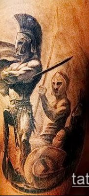 фото тату спартанец (tattoo Spartan) (значение) – пример рисунка – 084 tatufoto.com