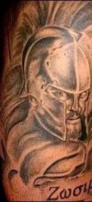 фото тату спартанец (tattoo Spartan) (значение) – пример рисунка – 085 tatufoto.com