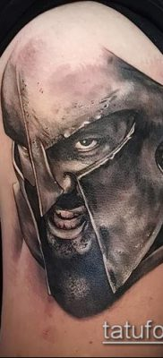 фото тату спартанец (tattoo Spartan) (значение) – пример рисунка – 086 tatufoto.com