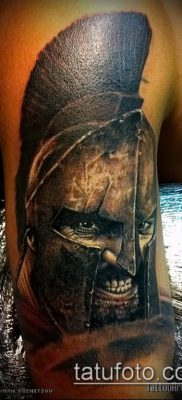 фото тату спартанец (tattoo Spartan) (значение) – пример рисунка – 087 tatufoto.com