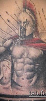 фото тату спартанец (tattoo Spartan) (значение) – пример рисунка – 092 tatufoto.com