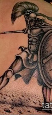 фото тату спартанец (tattoo Spartan) (значение) – пример рисунка – 093 tatufoto.com
