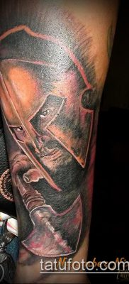 фото тату спартанец (tattoo Spartan) (значение) – пример рисунка – 097 tatufoto.com