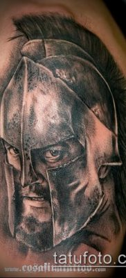 фото тату спартанец (tattoo Spartan) (значение) – пример рисунка – 098 tatufoto.com