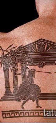 фото тату спартанец (tattoo Spartan) (значение) – пример рисунка – 104 tatufoto.com