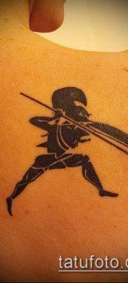 фото тату спартанец (tattoo Spartan) (значение) – пример рисунка – 109 tatufoto.com