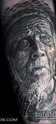 фото тату старец (значение) – пример интересного рисунка тату – 002 tatufoto.com