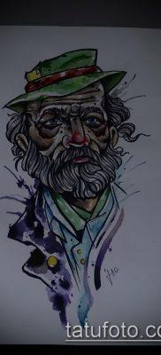 фото тату старец (значение) – пример интересного рисунка тату – 003 tatufoto.com