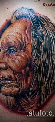 фото тату старец (значение) – пример интересного рисунка тату – 015 tatufoto.com