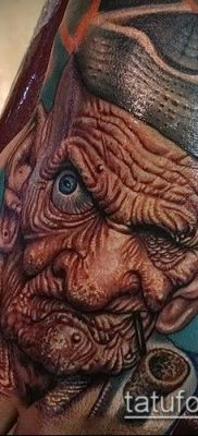 фото тату старец (значение) – пример интересного рисунка тату – 020 tatufoto.com