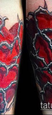 фото тату терновник (значение) — пример интересного рисунка тату — 003 tatufoto.com