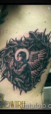фото тату терновник (значение) — пример интересного рисунка тату — 056 tatufoto.com