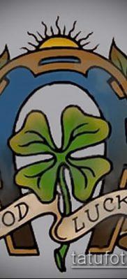 фото тату удача-талисман(значение) – пример интересного рисунка тату – 004 tatufoto.com