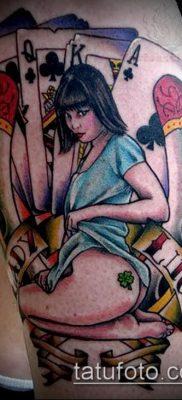 фото тату удача-талисман(значение) – пример интересного рисунка тату – 012 tatufoto.com