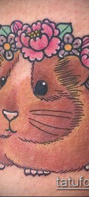 фото тату хомяк (значение) – пример интересного рисунка тату – 010 tatufoto.com