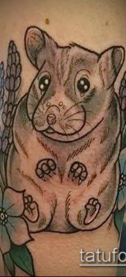 фото тату хомяк (значение) – пример интересного рисунка тату – 014 tatufoto.com