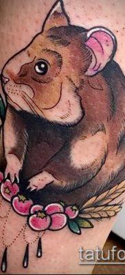 фото тату хомяк (значение) – пример интересного рисунка тату – 018 tatufoto.com