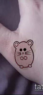 фото тату хомяк (значение) – пример интересного рисунка тату – 022 tatufoto.com