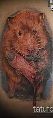 фото тату хомяк (значение) – пример интересного рисунка тату – 023 tatufoto.com