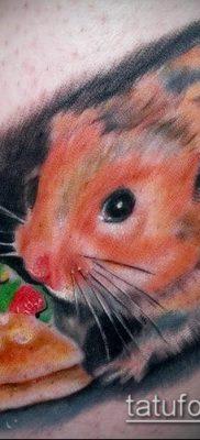 фото тату хомяк (значение) – пример интересного рисунка тату – 027 tatufoto.com