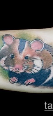 фото тату хомяк (значение) – пример интересного рисунка тату – 030 tatufoto.com