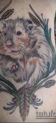 фото тату хомяк (значение) – пример интересного рисунка тату – 039 tatufoto.com