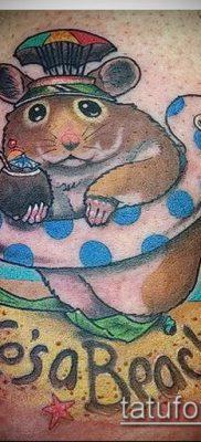 фото тату хомяк (значение) – пример интересного рисунка тату – 043 tatufoto.com