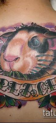 фото тату хомяк (значение) – пример интересного рисунка тату – 044 tatufoto.com