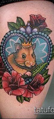 фото тату хомяк (значение) – пример интересного рисунка тату – 047 tatufoto.com