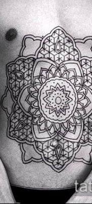 фото тату цветок жизни (Tattoo Flower of Li) (значение) – пример рисунка – 020 tatufoto.com
