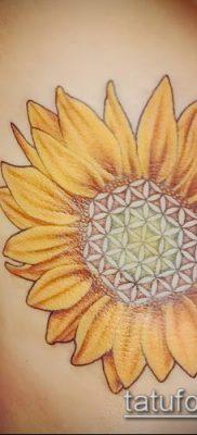 фото тату цветок жизни (Tattoo Flower of Li) (значение) – пример рисунка – 027 tatufoto.com