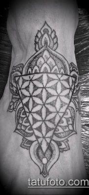 фото тату цветок жизни (Tattoo Flower of Li) (значение) – пример рисунка – 039 tatufoto.com