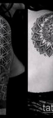 фото тату цветок жизни (Tattoo Flower of Li) (значение) – пример рисунка – 043 tatufoto.com