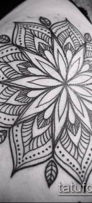 фото тату цветок жизни (Tattoo Flower of Li) (значение) – пример рисунка – 060 tatufoto.com