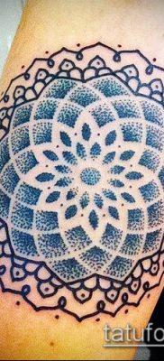 фото тату цветок жизни (Tattoo Flower of Li) (значение) – пример рисунка – 065 tatufoto.com