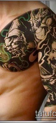 фото тату черт (devil tattoo) (значение) – пример рисунка – 002 tatufoto.com