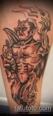 фото тату черт (devil tattoo) (значение) – пример рисунка – 008 tatufoto.com