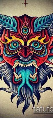 фото тату черт (devil tattoo) (значение) – пример рисунка – 018 tatufoto.com