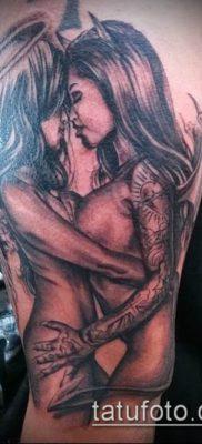 фото тату черт (devil tattoo) (значение) – пример рисунка – 020 tatufoto.com