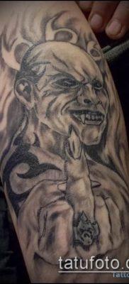 фото тату черт (devil tattoo) (значение) – пример рисунка – 023 tatufoto.com