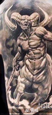 фото тату черт (devil tattoo) (значение) – пример рисунка – 027 tatufoto.com
