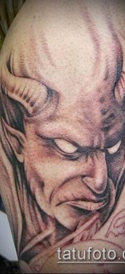 фото тату черт (devil tattoo) (значение) – пример рисунка – 034 tatufoto.com