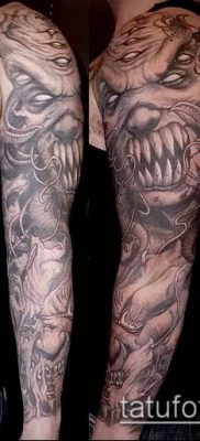 фото тату черт (devil tattoo) (значение) – пример рисунка – 035 tatufoto.com