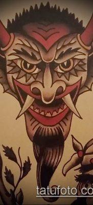 фото тату черт (devil tattoo) (значение) – пример рисунка – 036 tatufoto.com