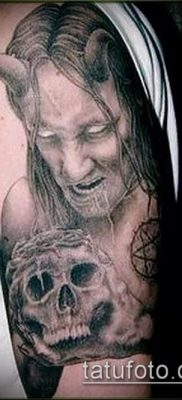 фото тату черт (devil tattoo) (значение) – пример рисунка – 037 tatufoto.com