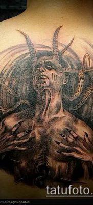 фото тату черт (devil tattoo) (значение) – пример рисунка – 038 tatufoto.com