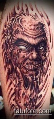 фото тату черт (devil tattoo) (значение) – пример рисунка – 044 tatufoto.com
