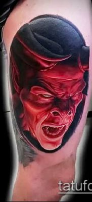 фото тату черт (devil tattoo) (значение) – пример рисунка – 046 tatufoto.com